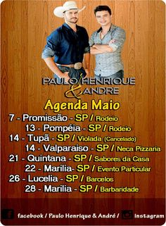 Blog Cidade de Marília: Paulo Henrique e André