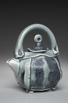Beautiful handbuilt teapot by Marion Angelica