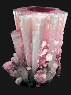 Tourmaline with Albite - Afghanistan / Mineral Friends