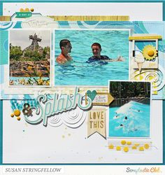 Creatively Savvy: 2 more with the July Scraptastic kit