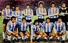 EQUIPOS DE FÚTBOL: SELECCIÓN DE ARGENTINA Campeona del Mundo 1978