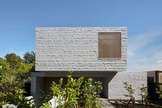 Granite facade - rmadale Residence-B.E Architecture-The Local Project-Australian Architecture & Design-Image 1 Australian Architecture, Minimalist Architecture, Architecture Photo, Residential Architecture, Australian Homes, Types Of Granite, Brutalist Buildings, Modern Buildings, Melbourne House