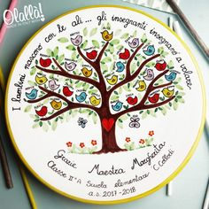 piatto-ceramica-regalo-maestre4 Teacher Appreciation Gifts, Teacher Gifts, Night Of Knights, Class Auction Projects, Teacher Humour, Fingerprint Art, Christmas Plates, Pottery Painting, Happy Baby