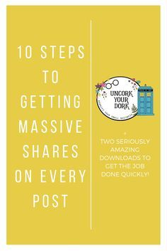 Check out these tips that have increased my shares by 300...& over a 1,000 shares on more than a few! Click the image to read the article and get the downloads!