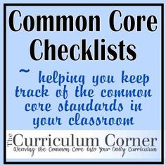 10 Wonderful Common Core Standards Cheat Sheets ~ Educational Technology and Mobile Learning