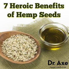 Hemp Seed Benefits and Nutrition Profile - DrAxe.com - http://draxe.com/7-hemp-seed-benefits-nutrition-profile/