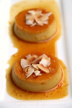 spanish flan flan with lavender toasted coconut rum flan recipe of the ...