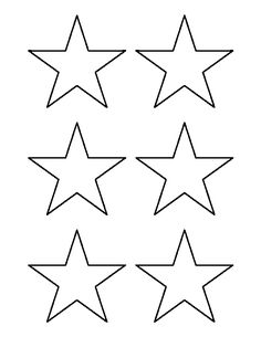 graphic about Free Printable Stars named famous people towards print Crayons (if yourself print template out) Textbooks