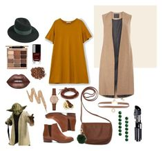 """Yoda Inspo"" by hadahgoncalves on Polyvore featuring arte, outfit, starwars y yoda"