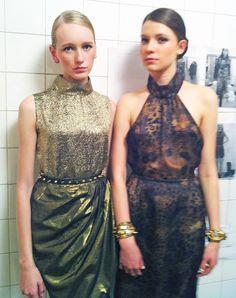 Upost apresenta Isolda London fashion show Looks backstage. upost.com.br