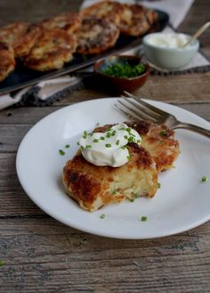 Mashed Potato Latkes | Zenbelly