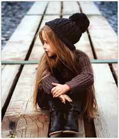 Get Serious! Kid's fashion is A Thing - hat boots casual winter fashion