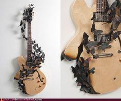 sweet guitar decoration!
