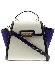 ZAC Zac Posen Eartha Top Handle Handbag This is a cool, cool bag.