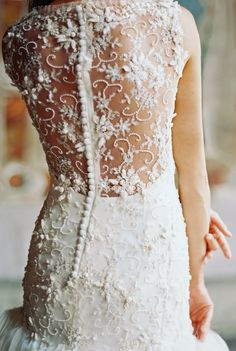 Intricate beading ~ Sareh Nouri 2014 Bridal Collection