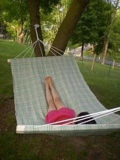 1000 images about garden ideas hammocks on pinterest - How to make a cloth hammock ...