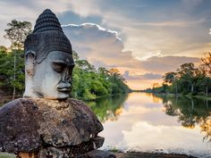 According to Lonely Planet, Angkor Wat is the best tourist attraction on the planet. Siem Reap, Adventure Tours, Life Is An Adventure, Lonely Planet, Bangkok, Best Vacations With Kids, Hongkong, Road Trip Hacks, Best Places To Live