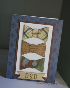 Cricut Art Philosophy Father's Day Card with Victory Paper www.fancymelissa.com #ctmh #dad #papa #grandpa