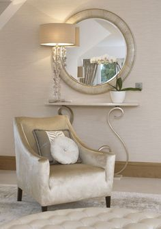 InStyle-Decor.com Beverly Hills Luxe Ivory Snake Leather Mirror    Inspiring Interior Design Fans With Luxury Home Decor Ideas From Hollywood Enjoy & Happy Pinning