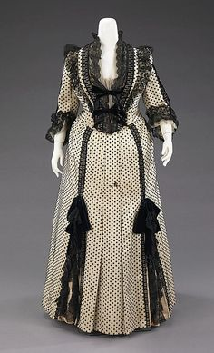 Dinner Dress  Charles Fredrick Worth, 1880s  The Metropolitan Museum of Art
