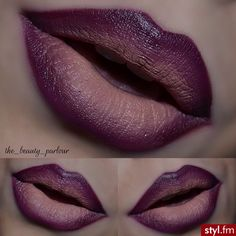 Ombre lips looks are one of the latest beauty obsessions. Check out our photo gallery featuring gradient lip makeup looks and go for mega impact. Beautiful Lips, Gorgeous Makeup, Lipstick Colors, Lip Colors, Lip Makeup, Makeup Tips, Makeup Ideas, Sexy Makeup, Beauty Make Up
