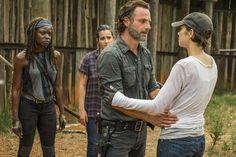 Flashback Friday - Ezekiel  Bonus - Rick meeting Maggie after Glenn's death #thewalkingdead #thewalkingdeadamc