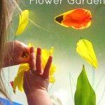 Sticky Window Flower Garden for Toddlers