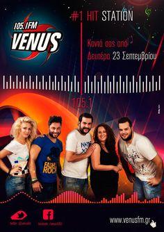on air 23-9-2013 www.venusfm.gr