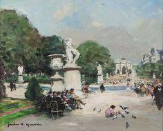 Jules-René Hervé - Jardin des Tuileries #4