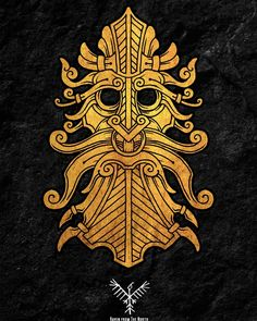 Yggdrasil — ravenfromthenorth: Another nordic style mask...