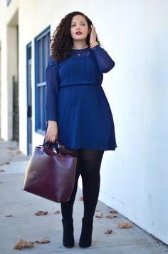 blue dress, work,