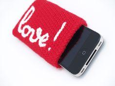 Funda de I-phone personalizada love / SILAYAYA - Artesanio