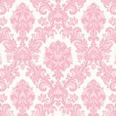 From Michael's ad - Anna Griffin Valentina Pouty Pink Flocked Damask