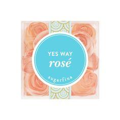 Yes Way Rosé Gummy Roses - Sugarfina