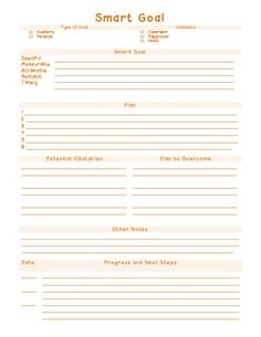 Printables Brian Tracy Goals Worksheet back to school goal setting with smart goals teaching form pinned from pinto for ipad