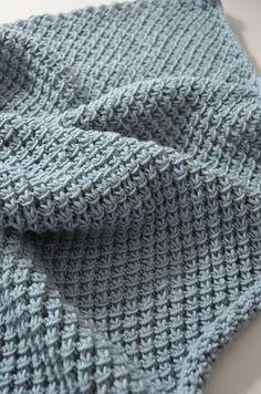 Ravelry: Soft babyblanket / Mykt babyteppe pattern by Strikkly Speaking Free Pattern DK / 8 ply wpi) ? 18 stitches and 23 rows = US 8 - mm 1094 - 1263 yards - 1155 m) Babydeckenmuster geben frei Easy Beginner Crochet Baby Blanket - Crochet Ideas Free Baby Blanket Patterns, Crochet Blanket Patterns, Baby Knitting Patterns, Baby Blanket Crochet, Free Knitting, Baby Afghans, Lap Blanket, Crochet Bobble, Knit Or Crochet