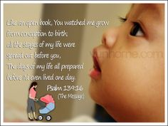 Psalm 139, Psalms, Watch Me Grow, Open Book, Day Of My Life, Blessing, Prayers, Concept, Messages