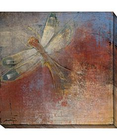Maeve Harris Dragonfly I Canvas Art - Overstock™ Shopping - Top Rated Canvas
