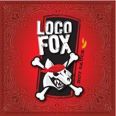 Loco Fox Hot Sauce logo by reinhardt http://toopixel.ch