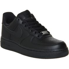 Nike Airforce 1 Suede High Top Sneakers (170 BAM) ❤ liked