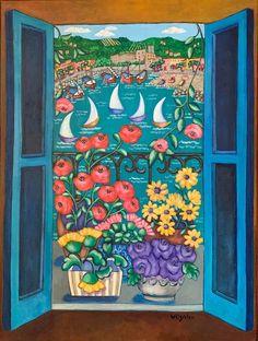 Holly Wojahn - Paintings for Sale | Artfinder Canvas Paper, Mixed Media Painting, Paintings For Sale, Lovers Art, Painting & Drawing, Buy Art, Art For Kids, Cool Art, Whimsical