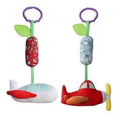 Ships from Hong Kong. These handmade stroller hanging toys is convenient and easy to take to any place. Suitable for 0-3 years old baby. Whether playing in the crib, sitting in the high chair, or traveling in the car, your little one will enjoy hours of interactive play and exploration with this... see more details at https://bestselleroutlets.com/baby/strollers-accessories/product-review-for-2pcs-handmade-decor-stroller-toys-airplane-pretty-baby-gift/