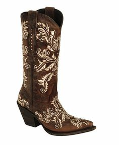 Lucchese Handcrafted 1883 Redwood Aspen Studded Angeliana Boots - Snip Toe | Sheplers.com