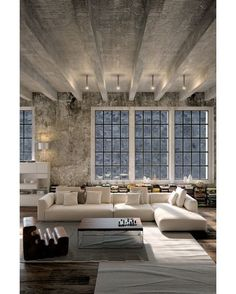 "@homeadore: ""Industrial Home #residence #home #flat #apartment #livingroom #interior #interiors #interiordesign #design #architecture"""