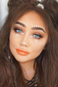 Coachella Makeup Inspired Looks To Be The Real Hit ★ See more: http://glaminati.com/coachella-makeup-looks/