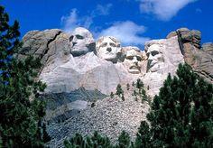 Mont Rushmore, South Dakota, USA