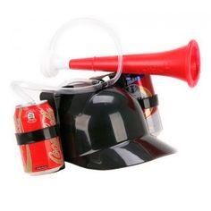 ¿Te imaginas beber con esta gorra dispensador con trompeta incluida? #molariaentinytien