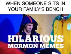 These hilarious Mormon Memes will have you rolling and nodding your head. Funny Mormon Memes, Lds Memes, Funny Jokes, Hilarious, Latter Days, Latter Day Saints, Saints Memes, Lds Mormon, When Someone