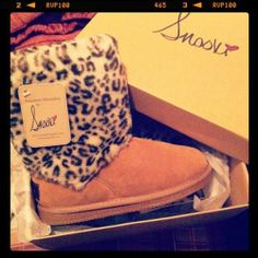 Usually not a fan of Uggs or Snooki but I kinda like these for a lazy fall day :)