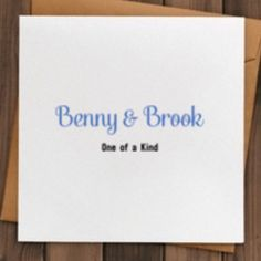 Browse unique items from BennyandBrook on Etsy, a global marketplace of handmade, vintage and creative goods. 2 Kind, Etsy Seller, Place Card Holders, Unique, Creative, Handmade, Vintage, Hand Made, Arm Work